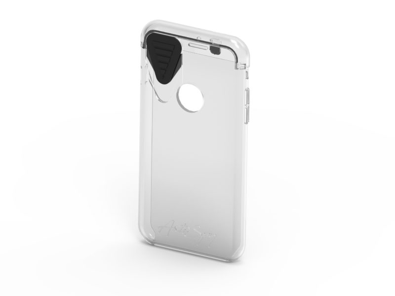 Funda antiespionaje para móvil. Services Diseño de producto, desarrollo, I+D+i, innovación, ingeniería, consultoría. Product design, development, R+D+i, innovation, engineering, consultancy Anti spy smartphone