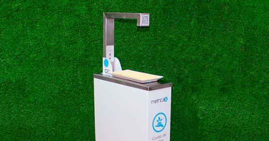 Dispensador de gel hidroalcohólico inteligente ANGEL